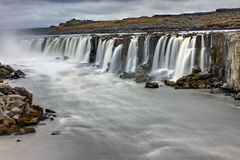 The powerful Selfoss waterfall Royalty Free Stock Image
