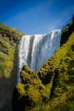 Powerful Skogafoss Waterfall in Iceland Royalty Free Stock Photos