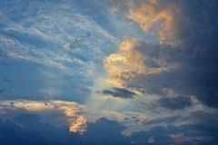 Powerful Sky Royalty Free Stock Photos