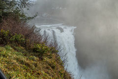 Powerful Snoqualmie Falls Royalty Free Stock Photo