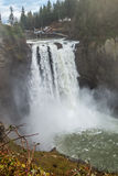 Powerful Snoqualmie Falls 3 Royalty Free Stock Image