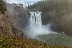 Powerful Snoqualmie Falls 2 Stock Photography