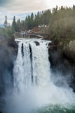 Powerful Snoqualmie Falls 6 Stock Images