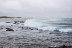 Powerful splash sea wave Royalty Free Stock Photography