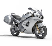 Powerful sportbike isolated Royalty Free Stock Photography