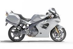 Powerful sportbike isolated Stock Image