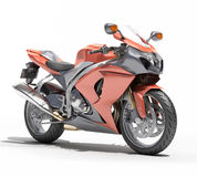 Powerful sportbike isolated Stock Image