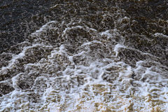 Powerful stream of water. Stock Photography