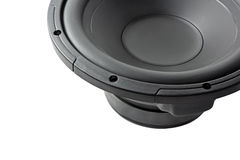 Powerful subwoofer Royalty Free Stock Photography