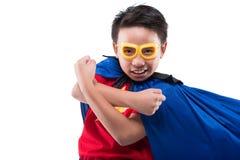 Powerful superhero Royalty Free Stock Photos