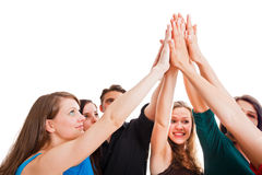 Powerful Team Royalty Free Stock Photography