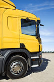 Powerful truck on the road Stock Images