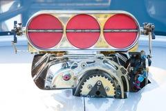 Powerful vehicle engine Stock Photo