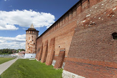 The powerful walls of the Kremlin. Kolomna. Russia Royalty Free Stock Image