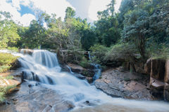powerful waterfall in Loei Royalty Free Stock Images