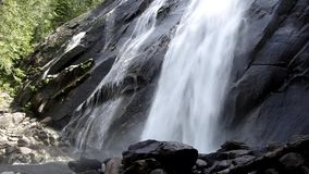 Powerful waterfall with sound Stock Images