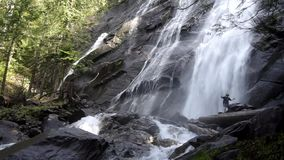 Powerful Waterfalls (with sound) stock video footage