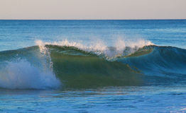 Powerful Wave in Cape Code Stock Photo