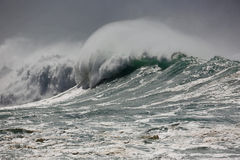 Powerful wave Royalty Free Stock Image