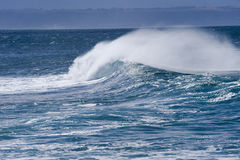 Powerful waves Royalty Free Stock Photos