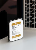 Powerful Western Digital Hard data center hard drive wd gold ser Royalty Free Stock Images