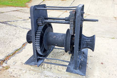 Powerful winch Stock Images