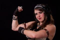 Powerful woman Royalty Free Stock Image