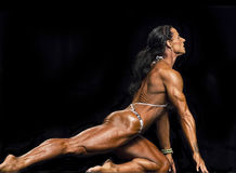 Powerful Women S Physiques Displayed In Vancouver Royalty Free Stock Image