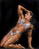Powerful Women's Physiques Displayed in Vancouver Royalty Free Stock Photos
