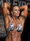 Powerful Women's Physiques Displayed in Vancouver Royalty Free Stock Images