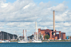 Powerhouse of Helsinki. Royalty Free Stock Image