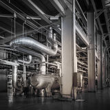 Powerhouse pipe system Stock Photography