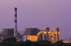 Powerhouse in twilight. Stock Photos