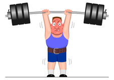 Powerlifter Stock Images
