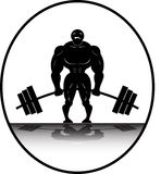 Powerlifter Deadlifting Stock Image