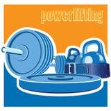 Powerlifting Fotografia Stock