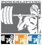 Powerlifting Photographie stock libre de droits