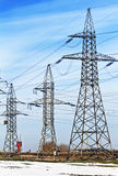 Powerline Royalty Free Stock Photography