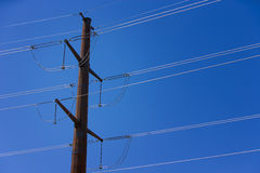 Powerline Royalty Free Stock Images