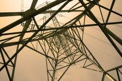 Powerline Стоковые Фотографии RF