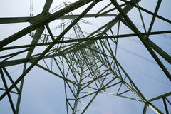 Powerline Стоковая Фотография RF