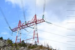 Powerline Stock Photo