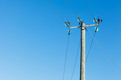 Powerline Royalty Free Stock Image
