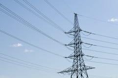 Powerline toren Royalty-vrije Stock Foto's
