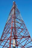 Powerlines в парке Стоковая Фотография RF