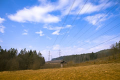 Powerlines Stock Images