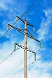 Powerlines Royalty Free Stock Photography