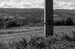 Powerlines stock foto