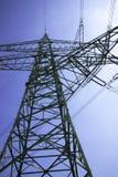 Powerlines Стоковые Изображения RF