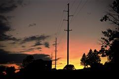 Powerlines Стоковая Фотография